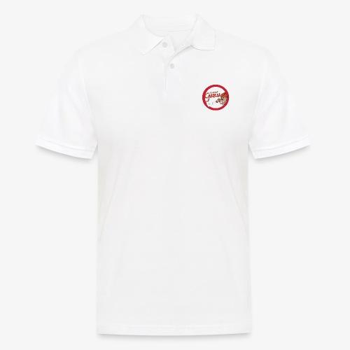 Dampf Guru Logo - Männer Poloshirt