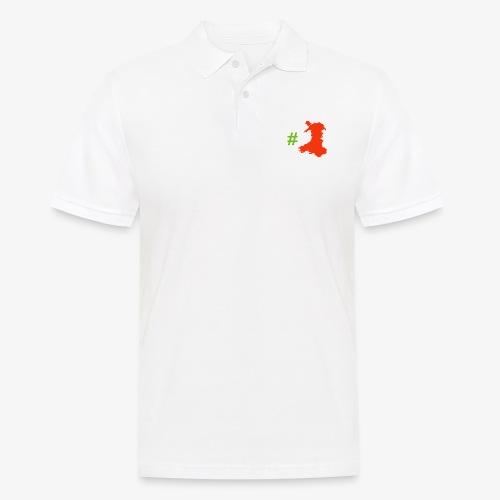 Hashtag Wales - Men's Polo Shirt