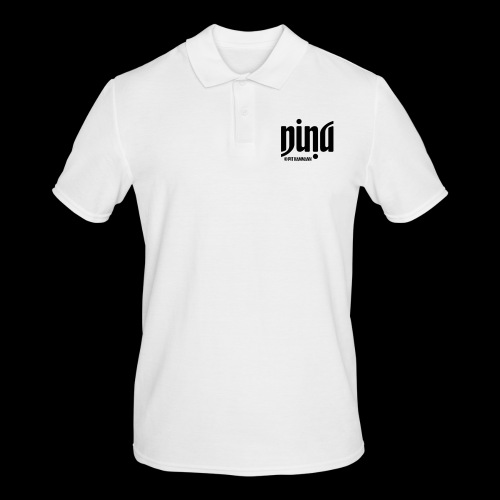 Ambigramm Nina 01 Pit Hammann - Männer Poloshirt