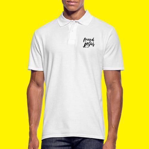 friend of jesus - John 15:15 - Men's Polo Shirt