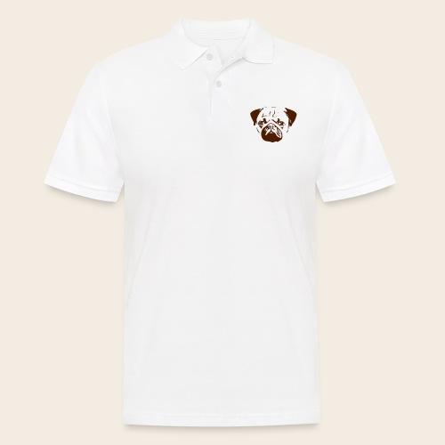 Otiz Mopskopf3 - Männer Poloshirt