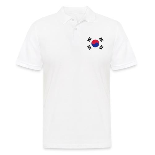 Korean Flag - Männer Poloshirt