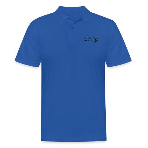 Understand Nature. Think Green! - Men's Polo Shirt