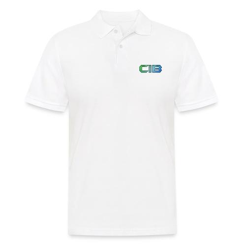 CuzImBacon Grønn og Blå logo - Poloskjorte for menn