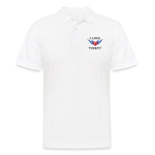 I Like Turkey - Männer Poloshirt