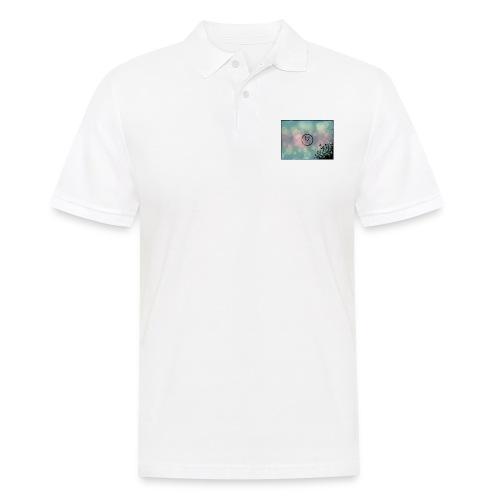 Llama in a circle - Men's Polo Shirt