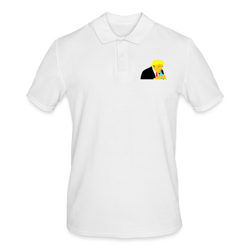How do you drink from this thing? - Männer Poloshirt