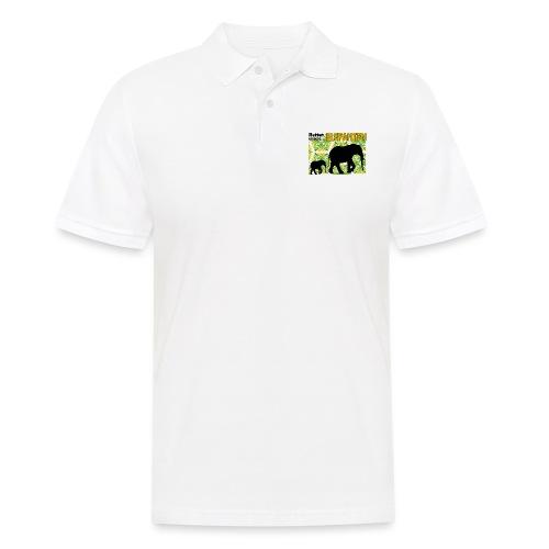 Rettet unsere ELEFANTEN - Männer Poloshirt