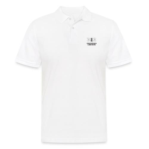 Teknoantropologisk Støtte T-shirt alm - Herre poloshirt