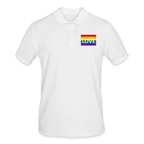 IN THE NAME OF LOVE RETRO T-SHIRT - Herre poloshirt