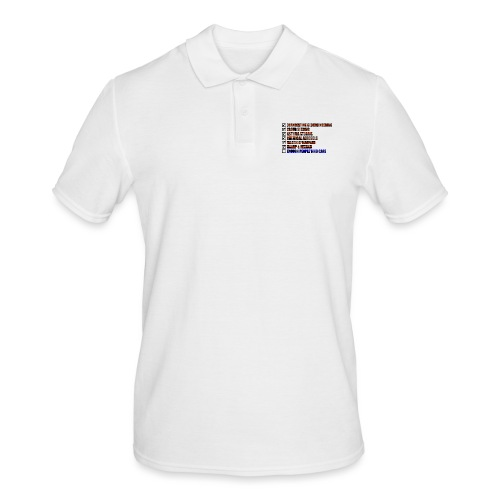 ENOUGH PEOPLE WHO CARE - Mannen poloshirt