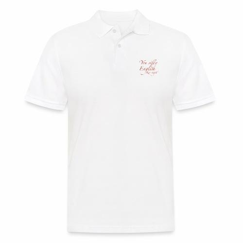Silly English Ker-nigit by Jon Ball - Men's Polo Shirt
