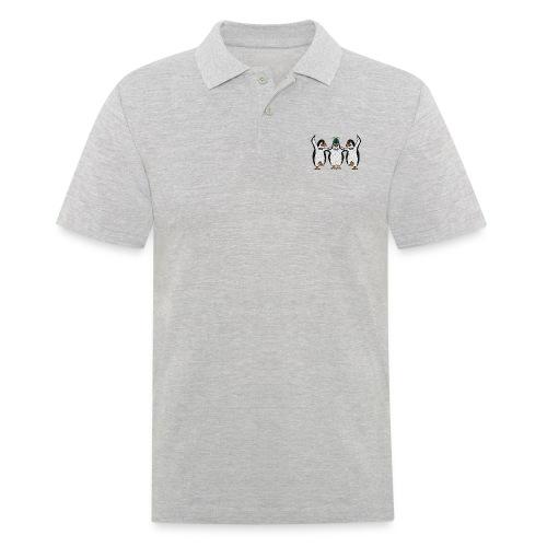 Penguin Trio - Men's Polo Shirt