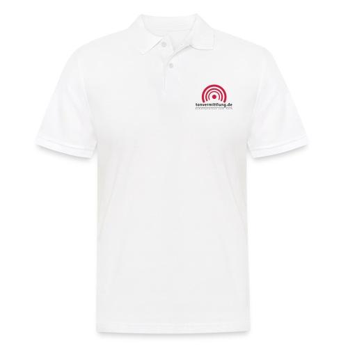 logo hoch - Männer Poloshirt