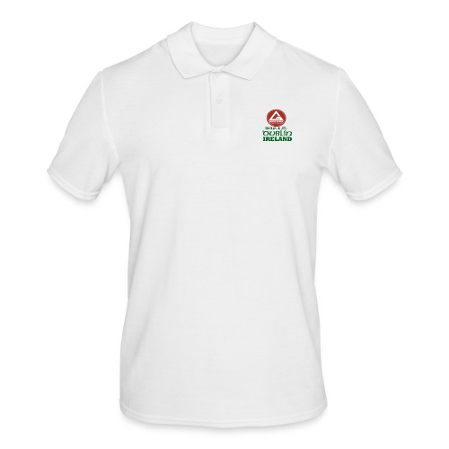 Gracie Barra Dublin Gaelic Celtic Font PNG - Men's Polo Shirt