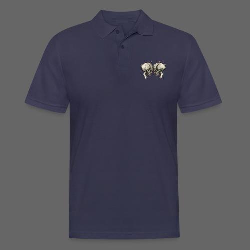 MHF_Logo_Loose-Skulls - Men's Polo Shirt