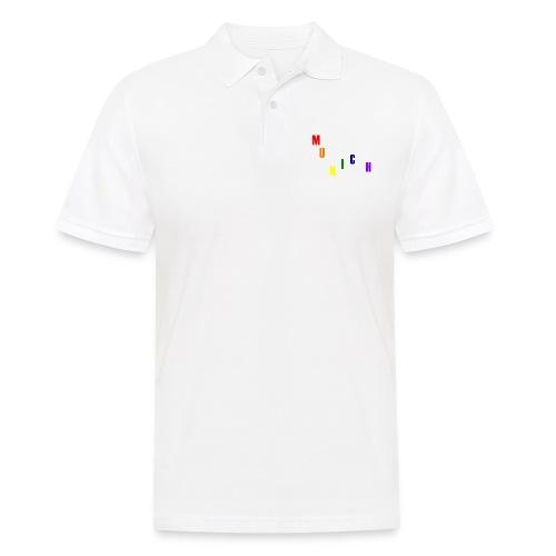 München Rainbow #1 - Männer Poloshirt