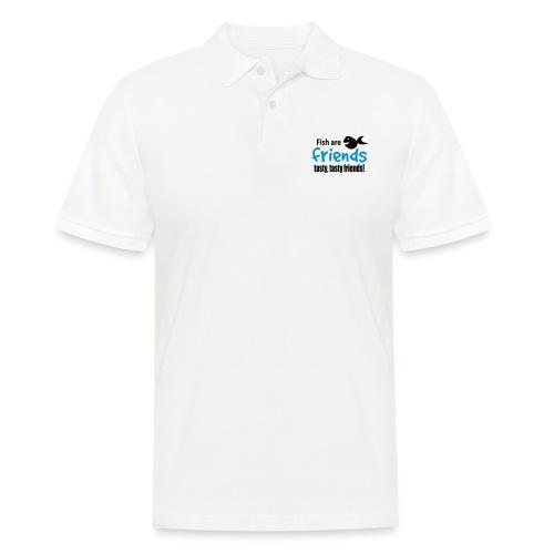 Fisk er venner - Poloskjorte for menn