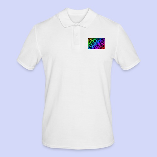 Rainbow doodle - Female shirt - Herre poloshirt