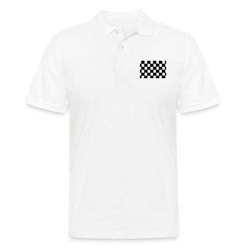 Szachownica - Koszulka polo męska