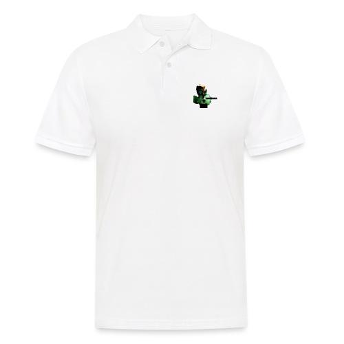 think green get lean - Men's Polo Shirt