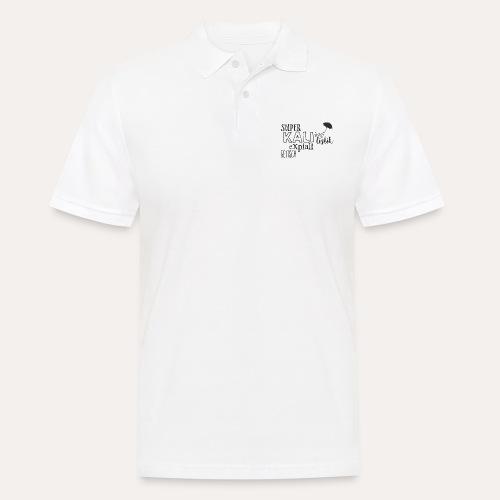superkalifragilistikexpialigetisch - Männer Poloshirt