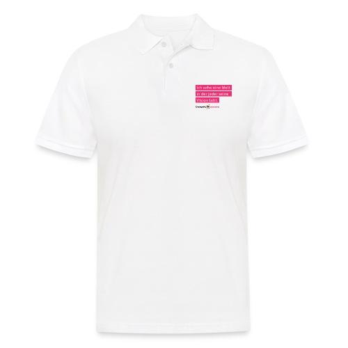 ChangeMy.Company Vision Branding - Männer Poloshirt