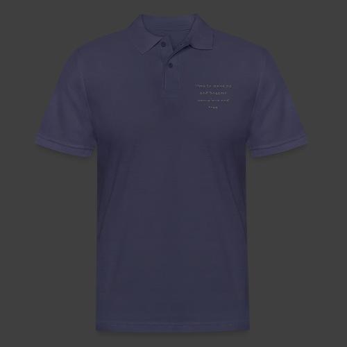 Time to wakeup - Men's Polo Shirt