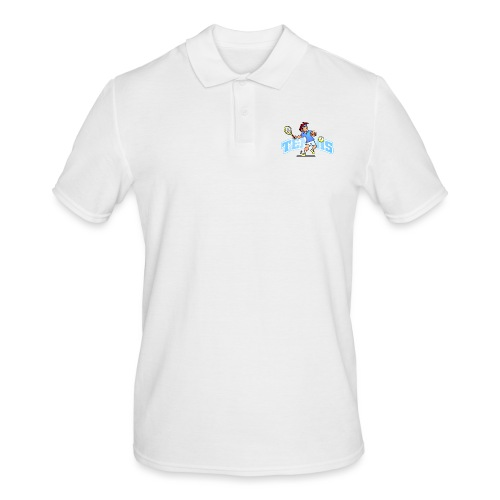 Tennis IV txt fc - Men's Polo Shirt