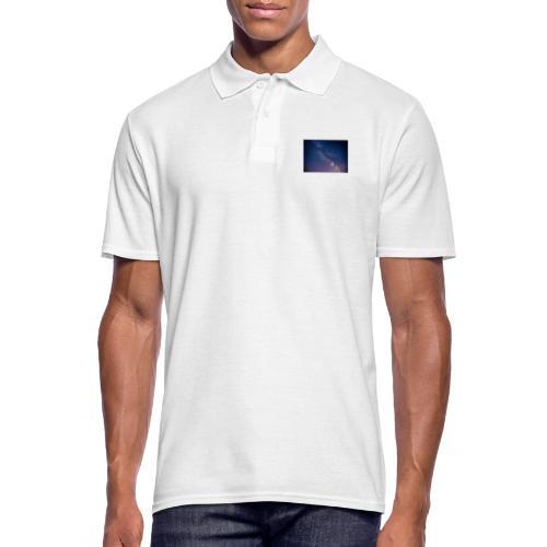 Milchstraße - Männer Poloshirt
