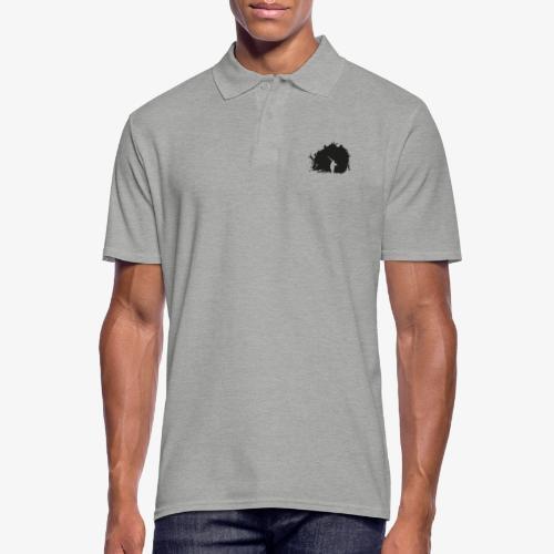 Skier - Skiier on the night - Men's Polo Shirt