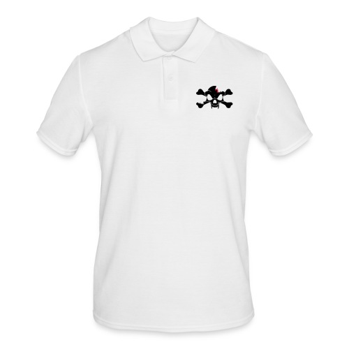 SKULL N CROSS BONES.svg - Men's Polo Shirt