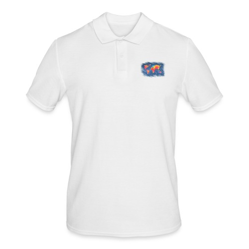 World - Männer Poloshirt