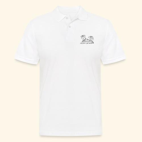 Weltreise T´Shirt - Let´s get lost - Männer Poloshirt