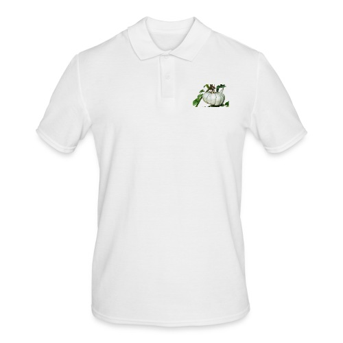 Kürbiszeit - Männer Poloshirt