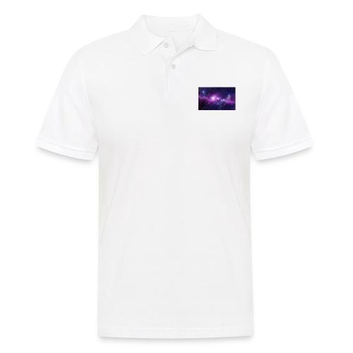 tshirt galaxy - Polo Homme