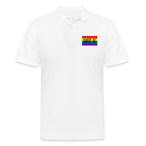 queer af - Männer Poloshirt