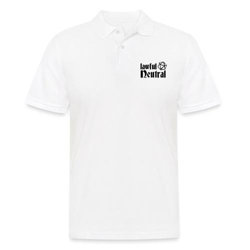 lawful neutral - Men's Polo Shirt