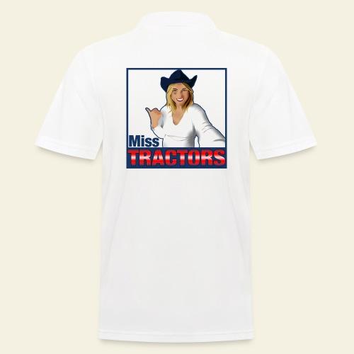 Miss Tractors Logo - Polo da uomo