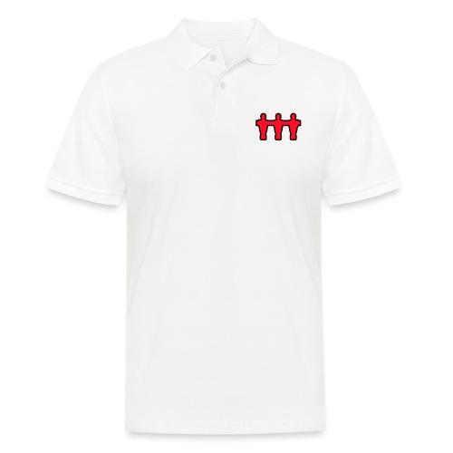 kickerspieler_outline - Kickershirt - Männer Poloshirt