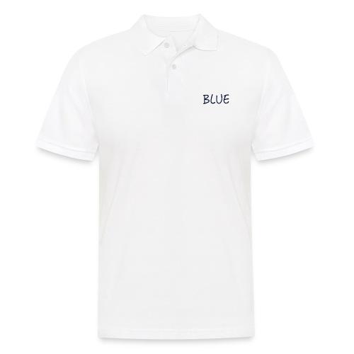 BLUE - Mannen poloshirt