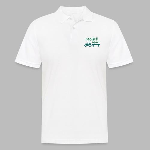 Modellbauer - Modell Bauer - Männer Poloshirt
