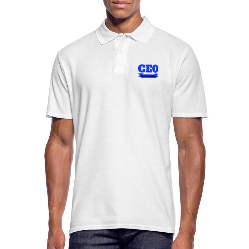 CEO - Chief Emoji Officer - Männer Poloshirt