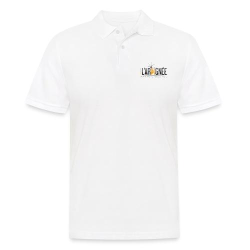 L'ARAIGNÉE, logo noir - Polo Homme