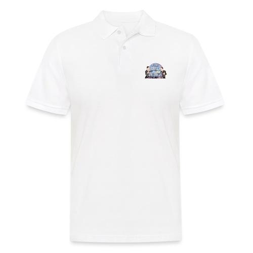 Flat Earth Debate Transparent - Men's Polo Shirt