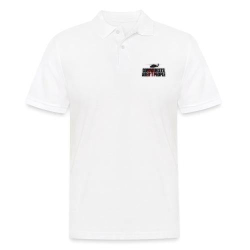 Communists aren't People (No uzalu logo) - Men's Polo Shirt