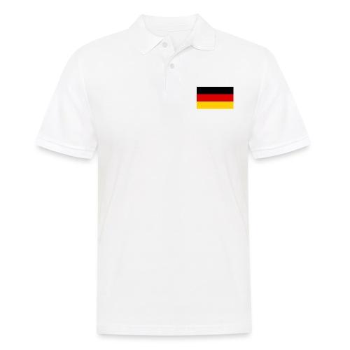 2000px Flag of Germany svg - Männer Poloshirt