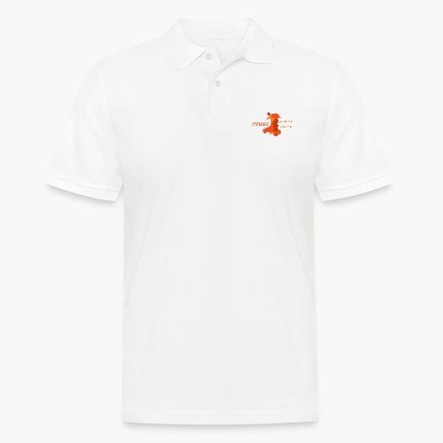 Cymru - Latitude / Longitude - Men's Polo Shirt