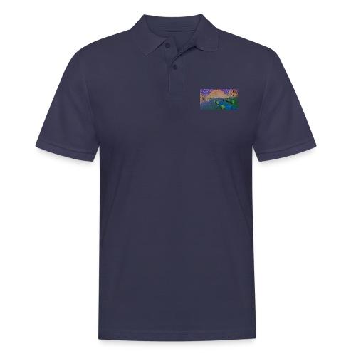 Silent river - Men's Polo Shirt