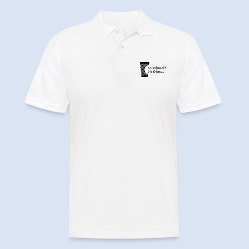 Geripptes mit Biss - Männer Poloshirt